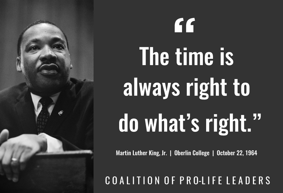 The Time Is Always Right... | Quote Martin Luther King, Jr.